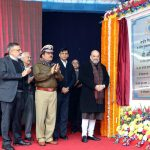 Amit Shah Lays The Foundation Stone Of Directorate General Building Of Crpf In New Delhi