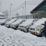 Kashmir Receives Fresh Snowfall Today, Marginal Rise In Minimum Temperature Brings Relief