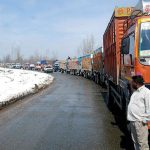 Traffic To Ply From Jammu To Srinagar For 2nd Day On Saturday