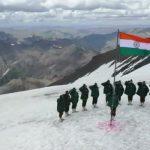 Indian Soldiers Raise The Flag In J&K's Gurez. Cue Goosebumps