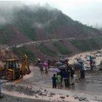 Landslides After Rain Disrupted Traffic On Jammu-Srinagar-National-Highway