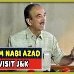 Ghulam Nabi Azad To Visit Jammu & Kashmir After Grant From Supreme Court