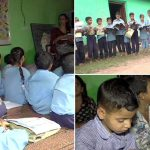 Students Of Primary School In Pund Forced To Study In Kutcha Rooms With School Building Damaged For Nine Years