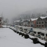 North India In The Grip Of Cold, Cold Winds After Snowfall