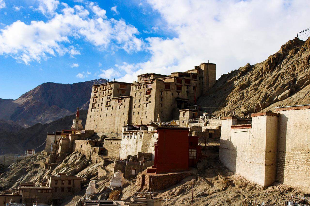 Beautiful Leh Palace