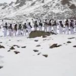 ITBP Personnel Celebrate Republic Day At 17,000 Feet In Ladakh